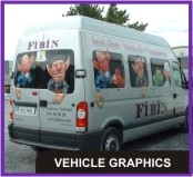 Van Graphics, Full Wraps, Magnetic Signs, Livery