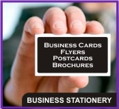 Business Cards, Compliment Slips, Flyers, Postcards, Brochures, Leaflets