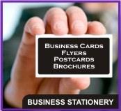 Business Cards, Compliment Slips, Flyers, Postcards, Brochures, Leaflets